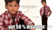 Boys clothes in stylish design